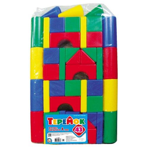 Купить Кубики Десятое королевство Теремок-43 00886, Детские кубики