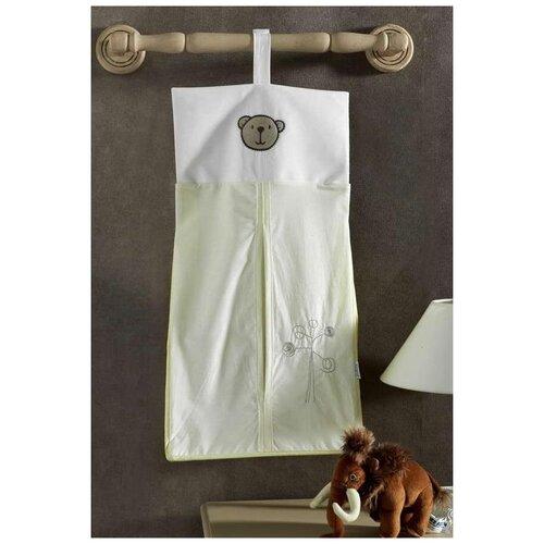 Купить Kidboo Прикроватная сумка Little Bear бело-зеленый, Органайзеры и карманы в кроватку