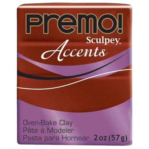 Купить Полимерная глина Sculpey Premo, цвет - 5519 под бронзу, 57 г, Глина