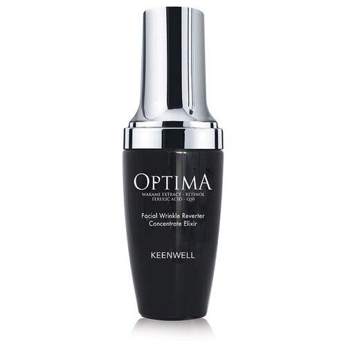 Фото - Keenwell Optima Facial Wrinkle Reverter Concentrate Elixir Сыворотка-эликсир от морщин для лица, 30 мл сыворотка эликсир biothal anti age elixir 30 мл