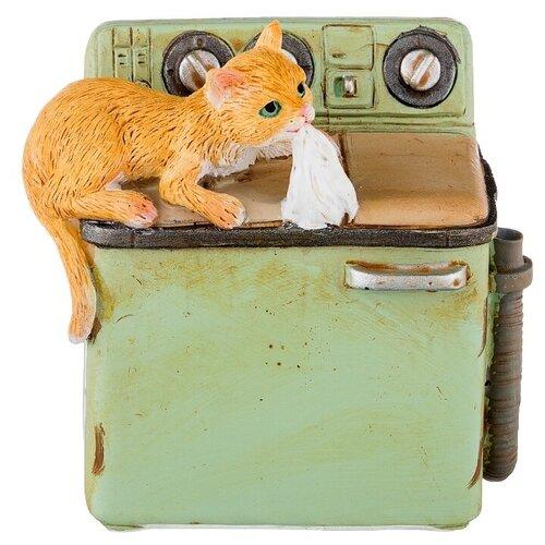 Фото - Статуэтка Lefard Кошки-мышки, 6.5 см оранжевый/зеленый статуэтка lefard пастель 48 см белый зеленый