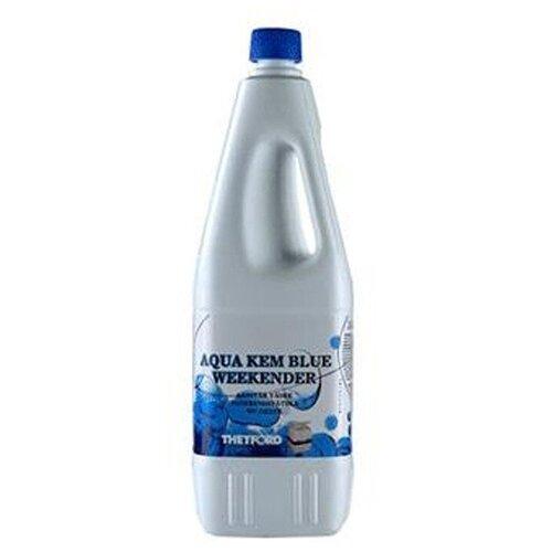 Фото - Жидкость для нижнего бака биотуалета Aqua Kem Weekender, 2 л расщепитель для нижнего бака thetford aqua kem blue