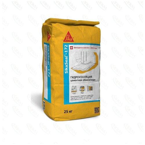 Обмазочная гидроизоляция Sika®-101a на цементной основе 25кг.