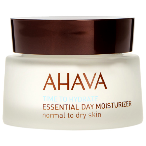Фото - AHAVA Time To Hydrate Essential Day Moisturizer Normal to Dry Skin увлажняющий дневной крем для нормальной и сухой кожи лица, 50 мл дневной увлажняющий гель для лица garnier skin naturals алоэ для нормальной кожи 50 мл