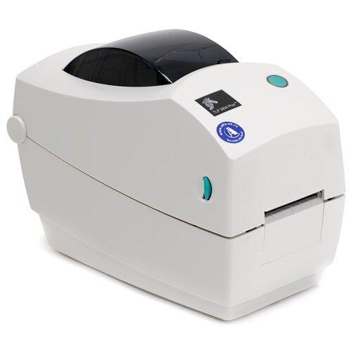 Термотрансферный принтер этикеток ZEBRA TLP 2824 Plus белый