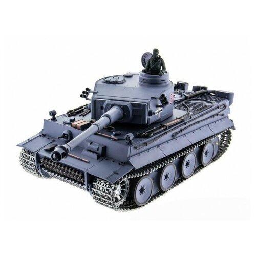 Фото - Радиоуправляемый танк German Tiger Pro масштаб 1:16 40Mhz радиоуправляемый танк heng long радиоуправляемый мини танковый бой cs toys 9819