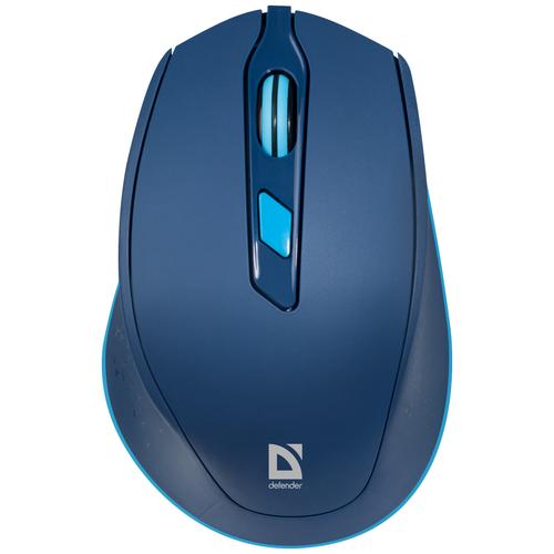 Беспроводная мышь Defender Genesis MM-785, синий