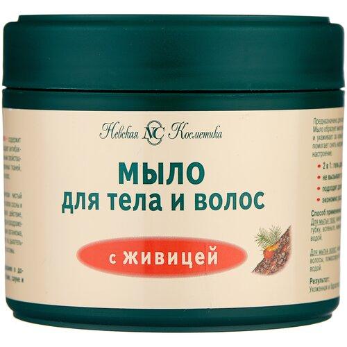 Мыло Невская Косметика с живицей для тела и волос, 300 мл
