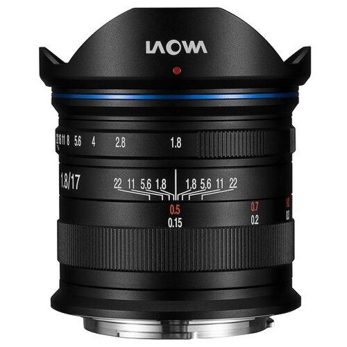 Фото - Объектив Laowa 17mm f/1.8 MFT черный объектив laowa 15mm f 4 5 zero d shift nikon z черный