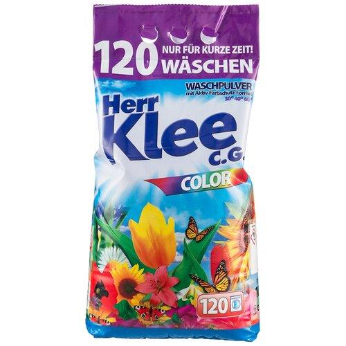 michael herr dispatches Стиральный порошок Herr Klee Color для цветного белья, пластиковый пакет, 10 кг