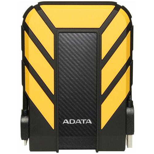 Фото - Внешний HDD ADATA HD710 Pro 2 TB, желтый внешний hdd adata hd710 pro 2 tb красный