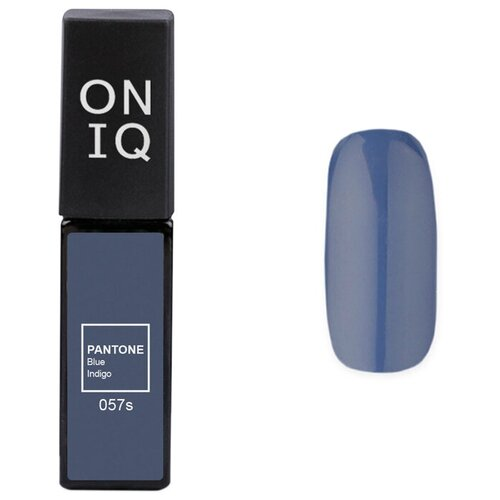 Купить Гель-лак для ногтей ONIQ Pantone, 6 мл, 057S Blue indigo