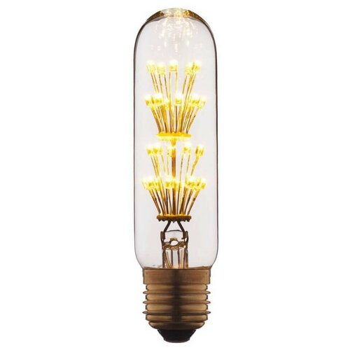 Лампа светодиодная филаментная E27 2W прозрачная T1030LED