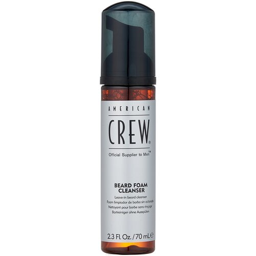 Фото - American Crew Очищающее средство для бороды Beard Foam Cleanser, 70 мл american crew очищающее средство для бороды 70 мл american crew для бритья shave