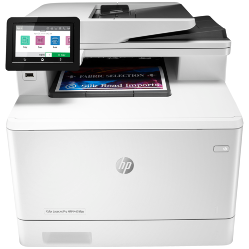 МФУ HP Color LaserJet Pro MFP M479fdn, белый