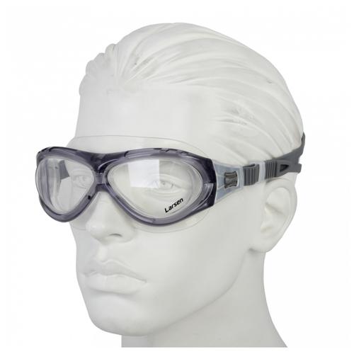 Очки-маска для плавания Larsen К5, серый по цене 1 246