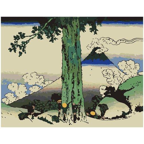 Купить Картина по номерам Японская Живопись, 70 х 80 см, Красиво Красим, Картины по номерам и контурам