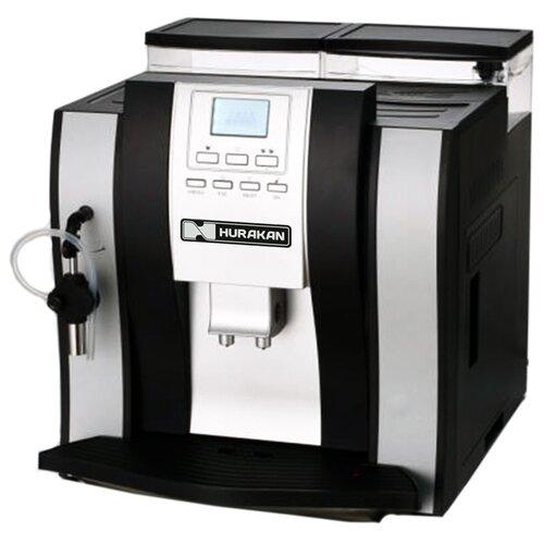 Кофемашина Hurakan HKN-ME709 серебристый/черный недорого