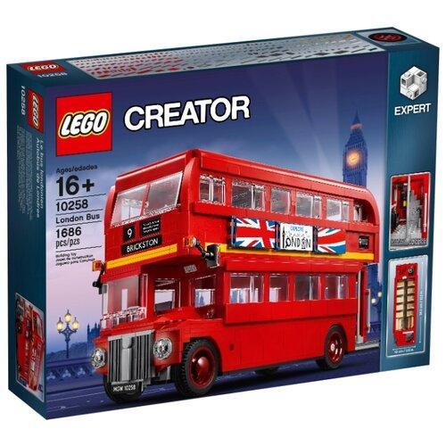 Конструктор LEGO Creator 10258 Лондонский автобус конструктор creator lego lego mp002xb00c9r