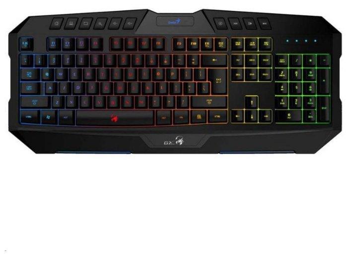 Клавиатура Genius Scorpion K20 Black USB