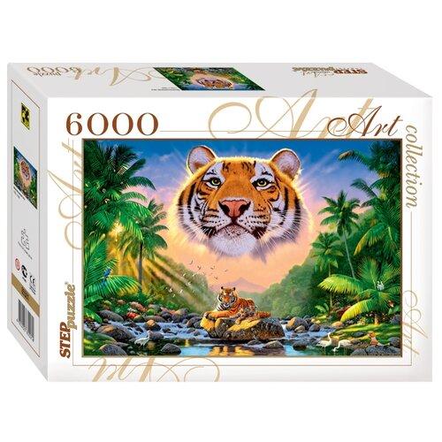 Пазл Step puzzle Art Collection Величественный тигр (85501), 6000 дет. magna puzzle 3d пазл тигр