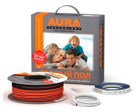 Греющий кабель AURA Heating КТА 2000Вт