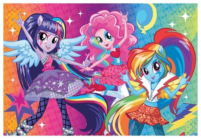 Пазл Trefl My Little Pony Радужный рок (14808), 100 дет.