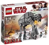 Конструктор LEGO Star Wars 75189 Штурмовой шагоход Первого Ордена