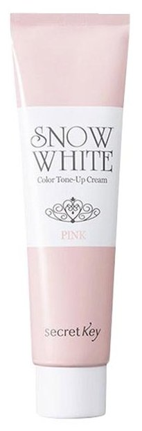 Secret Key Snow White Color Tone Up Cream Pink Крем для лица осветляющий