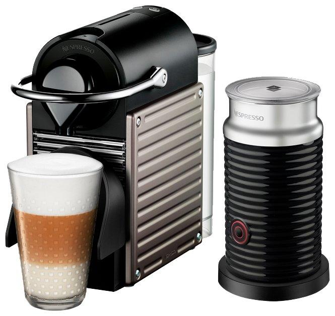 Nespresso Капсульная кофемашина Nespresso C60 Pixie Aeroccino