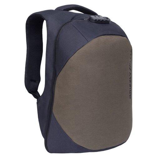 цена на Рюкзак Grizzly RQ-920-2 10 black/khaki (RQ-920-2/2)