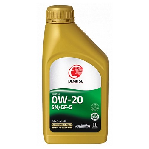 Моторное масло IDEMITSU 0W-20 SN/GF-5 1 л