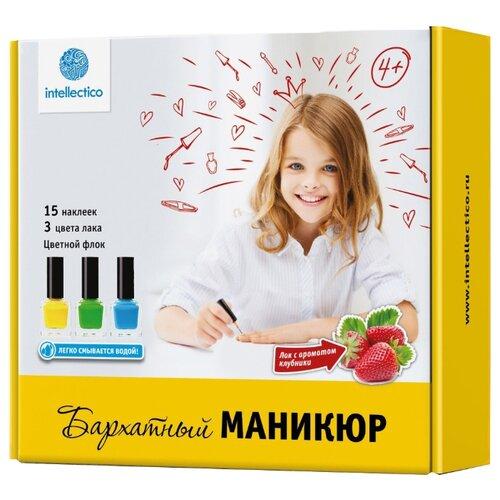 Набор косметики Intellectico Бархатный Маникюр набор для творчества intellectico мерцающий маникюр 26548