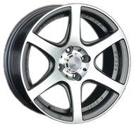 Диски LS Wheels 328 7,5x17 5x114,3 D67.1 ET40 цвет BKF (черный) - фото 1