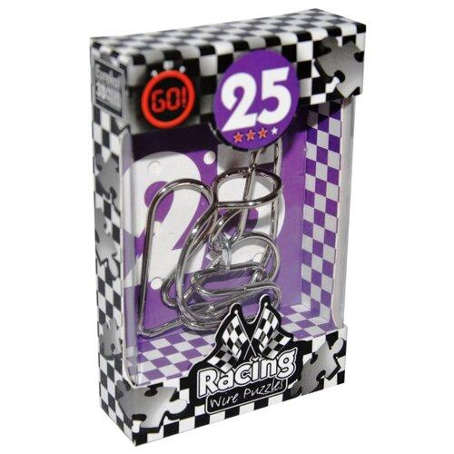 Купить Головоломка Eureka 3D Puzzle Racing Wire Puzzles 25 сложность 3 (473295) серый, Головоломки