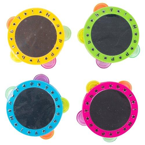 Купить Shantou Gepai бубен Happy Baby 0606-E, Детские музыкальные инструменты