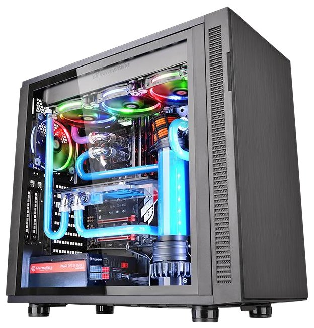 Компьютерный корпус Thermaltake Suppressor F31 TG CA-1E3-00M1WN-03 Black