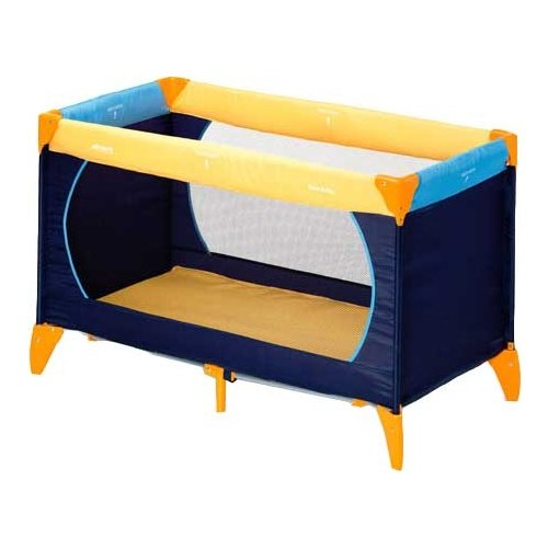 Манеж-кровать Hauck Dream'n Play синий/желтый