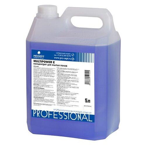 PROSEPT Средство для мытья полов Multipower E 5 л средство для удаления плесени prosept экологичное 0 5 л