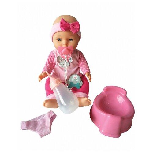 Купить Интерактивная кукла Mary Poppins Пью и писаю девочка в розовом 27 см 451149, Куклы и пупсы