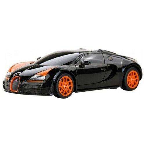 цена на Легковой автомобиль Rastar Bugatti Grand Sport Vitesse (47000) 1:24 черный
