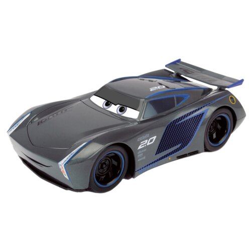 Легковой автомобиль Dickie Toys Cars 3 Джексон Шторм (203086007038) 1:16 25 см серый dickie toys сигнал регулировщика со светом 25 см dickie toys
