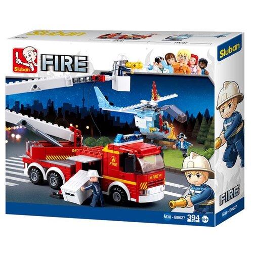 цена на Конструктор SLUBAN Пожарные спасатели M38-B0627