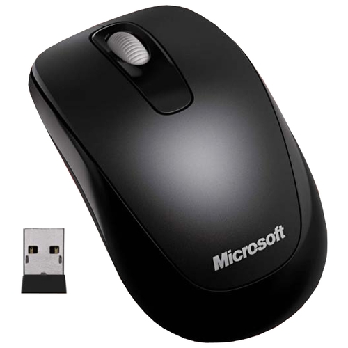 Мышь Microsoft Wireless Mobile Mouse 1000 Black USB