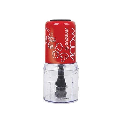 Измельчитель ENDEVER SIGMA-64 красный/белый