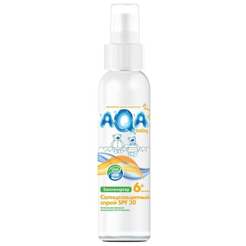 AQA baby Солнцезащитный спрей SPF 30 150 мл