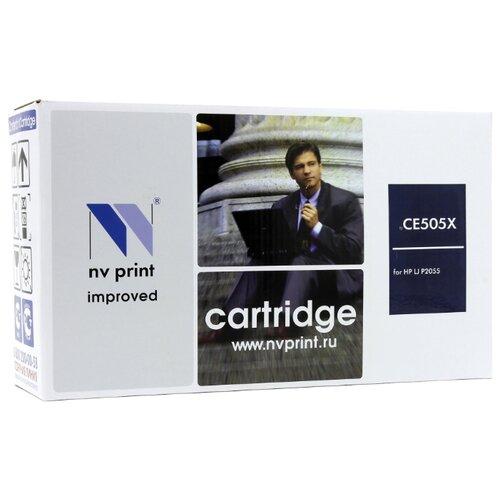 Фото - Картридж NV Print CE505X для HP, совместимый картридж nv print q7581a для hp