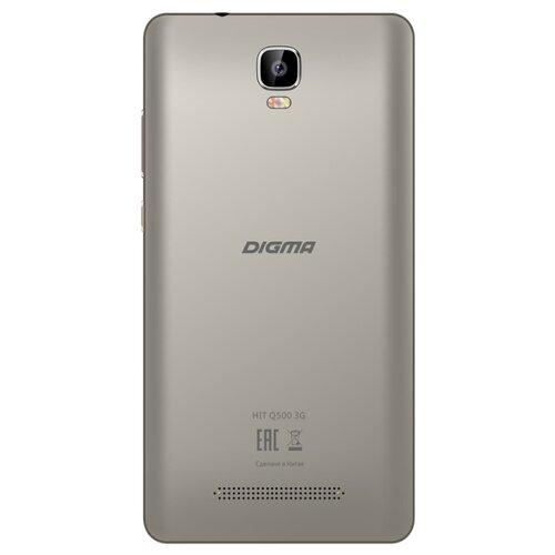 Смартфон DIGMA HIT Q500 3G серый смартфон