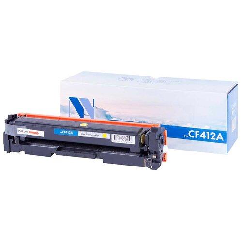 Фото - Картридж NV Print CF412A для HP, совместимый картридж nv print cb383a для hp совместимый