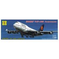 Сборная модель Моделист Самолет Боинг 747-400 Люфтганза (230031) 1:300